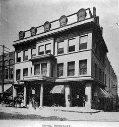 Hotel Berkeley, downtown Asheville. Early 1900s