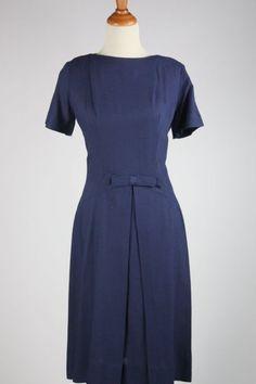 Blue Linen L Aiglon Dress by storyboutique on Etsy, $65.00