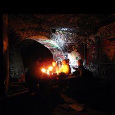 Paris, France - catacombs