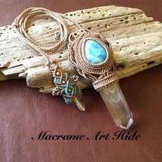 ということで完成!! ラリマーとファントムクォーツのマクラメデザインネックレス!! せっかく作家としてやってるんだから、自分の身に付けるアクセサリーも羨ましがられる物であるべきだよね 贅沢なアクセサリーだなー(笑) #macrame#pendant #necklace #accessories #Fashion #gemstone #天然石#パワーストーン#ネックレス#ペンダント#アクセサリー#ハンドメイド#handmade #larimar #Phantomquartz #crystal #ラリマー#クリスタル#ファントムクォーツ#マクラメ