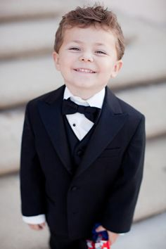 Little bow tie on a little guy