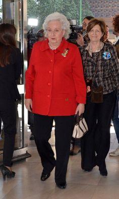 Infanta Pilar de Borbon attends opening of 'Rastrillo Nuevo Futuro' at Los Lebreros Melia Hotel on 6 Feb 2013 in Seville