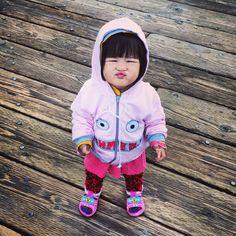 cutie pie on the loose Cute Asian Babies, Asian Kids, Cute Babies, Kissy Face, Baby Mine, Dream Baby, Precious Children, Babies R Us, Happy Kids