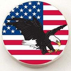 Holland Bar Stool Usa Eagle Tire Cover  3225 Inch X 12 Inch ** Check this awesome product by going to the link at the image. (This is an affiliate link) #CarCareTips