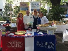 Savannah Riverboat Cruises' Executive Chef Christopher Myhre accompanied by Group Sales Reps, Megan Mazzoccone & Bailee Bridwell, and Marketing - Lisa Shea