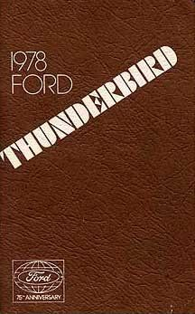 2017 ford edge owners manual considering that its intro 10 in 1978 thunderbird owners manual fandeluxe Image collections
