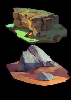 stone, xu jingjie on ArtStation at https://www.artstation.com/artwork/stone-102f54d9-dad9-4216-8b3a-0d1fddee3de8: