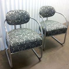 Barbershop Chairs Pair now featured on Fab.