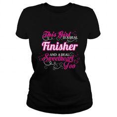 Finisher - Sweet Heart - #sudaderas sweatshirt #brown sweater. GUARANTEE => https://www.sunfrog.com/Names/Finisher--Sweet-Heart-Black-Ladies.html?68278
