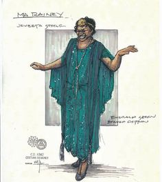 Ma Rainey's Black Bottom (Ma Rainey). Arizona Theatre Company. Costume design by Matthew J. LeFebvre. 2010