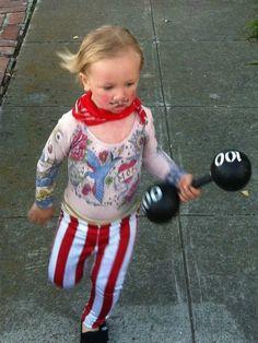 Halloween costume: Circus Strongman