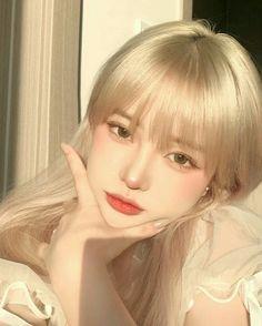 Ulzzang Hair, Ulzzang Makeup, Ulzzang Korean Girl, Cute Makeup, Pretty Makeup, Makeup Looks, Hair Makeup, Korean Beauty Girls, Asian Beauty
