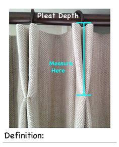 pinch pleat tape instructions