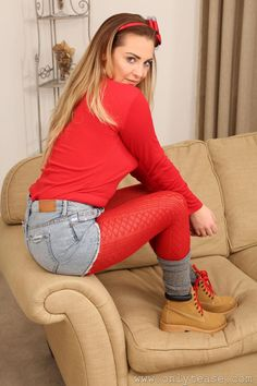 Colored hose for sweetie - 3 1