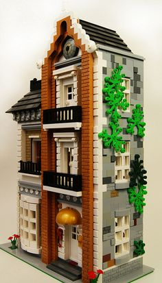Lego MOC Music Teacher's Town Home 3 | Flickr - Photo Sharing!