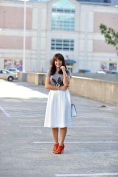 Reiss Midi skirt and