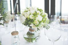 Ivory natural bridal flowers