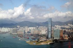 Kowloon from Victoria Peak by DragonSpeed, via Flickr