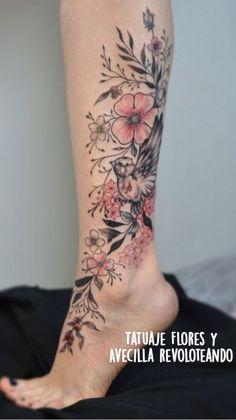 Hip Tattoo Small, Small Tattoos, Cool Tattoos, Floral Thigh Tattoos, Flower Tattoos, Enough Tattoo, Leg Tattoos Women, Stylist Tattoos, Gorgeous Tattoos
