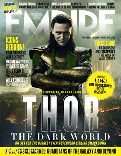 Tom Hiddleston's photo: Empire made me fall in love with movies when I was ten years old. This is a big day for me. Thank you, @Empire Magazine!