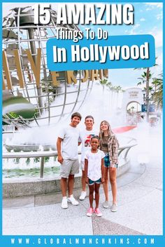 Come with us as we explore some of the best things to do while visiting the land of the stars and give you a list of all the best things to do in Hollywood on your next visit! California Ski Resorts, California Destinations, Visit California, California Travel, Los Angeles Vacation, Los Angeles Travel, Hollywood Boulevard, In Hollywood, Travel With Kids