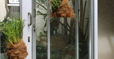 A large glass door can be quite a safety hazard if you cannot see it. Demarcating it with a DIY vinyl decal can mark it clearly and prevent accidents. Doors, Diy Vinyl, Door Decals, Glass, Vinyl, Glass Door