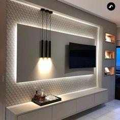 Living Room Tv Unit Designs, Ceiling Design Living Room, Tv Wall Design, Kitchen Room Design, Home Room Design, Home Interior Design, House Design, Kitchen Designs, Room Kitchen