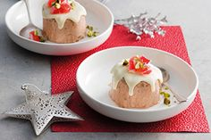 Best New Zealand recipes - Find and save your favourite recipes at Eat Well Christmas Ice Cream, Simple Christmas, Raspberry, Strawberry, Impressive Desserts, Fruit In Season, Christmas Desserts, Puddings, Eating Well