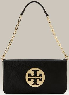 tory burch clutch with chain. NEED!