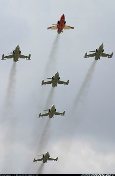 The last military F-104 formation. I worked on these at Edwards AFB as an Aircraft Electrical Repairman. 6515th FMS