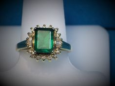 We Just added this to our store Catalog 14K Gold Lab Crea... We think you need this as a gift for someone! http://bestwirejewelry.com/products/14k-gold-lab-created-emerald-ring?utm_campaign=social_autopilot&utm_source=pin&utm_medium=pin