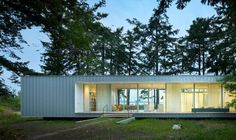 The Architect Is In: A Low-Impact Summer House on Orcas Island, Multiple Views Included by Christine Chang Hanway