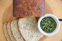 Chleb z czosnkiem niedźwiedzim przepis | Sprawdzona Kuchnia Banana Bread, Desserts, Food, Meal, Deserts, Essen, Hoods, Dessert, Postres