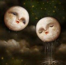 Image result for moon artwork
