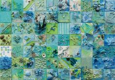Collage, item weg en waterplan  Populus Art
