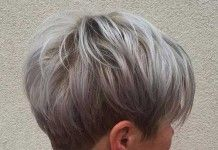 10+ Short Pixie Haircuts for Gray Hair