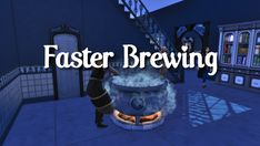 Faster Brewing | Scarlet on Patreon Sims 4 Mods, Brewing, Sims Cc, Scarlet, Scarlet Witch