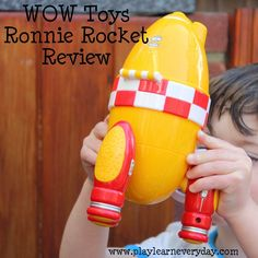 WOW Toys Ronnie Rocket - Review
