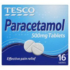 PURCHASED  Morning after paracetamol.  I got 2 boxes to get two tablets per bag.  One box was slightly squashed so was reduced to 11p making a grand total of £0.24    Price per bag = £0.02