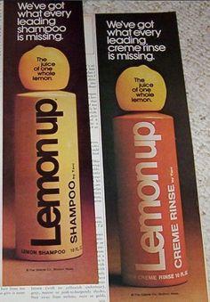 lemon up shampoo...
