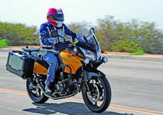 Suzuki V-Strom 650 Project Bike