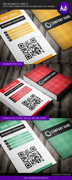 Pro Business Card 9