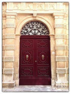 Traditional Maltese Door | Flickr - Photo Sharing!