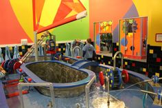 Located in downtown Appleton, Wisconsin, the Building For Kids Childrens' Museum offers two stories of exhibits. We loved the water and sports rooms!