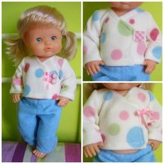 Patrones para muñeco Nenuco: Básicos | La agenda de mamá Doll Clothes Patterns, Clothing Patterns, Altering Clothes, 18 Inch Doll, Dressmaking, Barbie Dolls, American Girl, Sewing Crafts, Girl Outfits