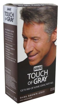 Just For Men Touch Of Gray T-45 Dark Brown (3-Pack) with Free Nail File >>> Click image to review more details.