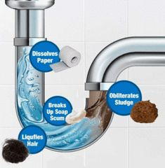 Get your drainage clear and sinks clean all at once with this multipurpose cleaner. Our Ultimate Sink & Drainage Cleaner is a unique, safe, but extremely power House Cleaning Tips, Cleaning Hacks, Cleaning Products, Kitchen Cleaning, Bathroom Cleaning, Sink Drain Cleaner, Toilet Stains, Clogged Toilet, Clogged Drains