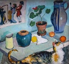 August MACKE  (3 de febrero de 1887 – 26 de septiembre de 1914) fue uno de los principales miembros del grupo expresionista alemán Der Blaue Reiter (El Jinete Azul). Vivió durante un período especialmente innovador del arte alemán, con el desarrollo del Expresionismo y la llegada de los sucesivos movimientos de vanguardia que estaban apareciendo en el resto de Europa. Como auténtico artista de su época, Macke supo como integrar en su pintura aquellos elementos que más le interesaban de las…