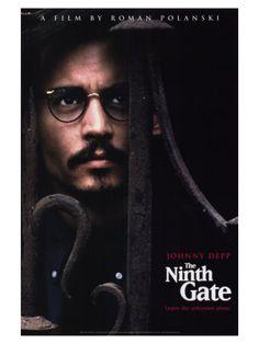 The Ninth Gate. Roman Polanski. this movie was kinda fucked up, but enjoyable.