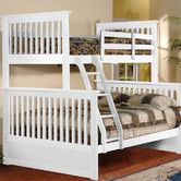 Found it at Wayfair - Twin Over Full L-Shaped Bunk Bed Nice for a girls room